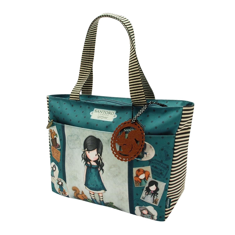 Santoro Gorjuss Carry-All Bag –  You Brought Me Love 656GJ01