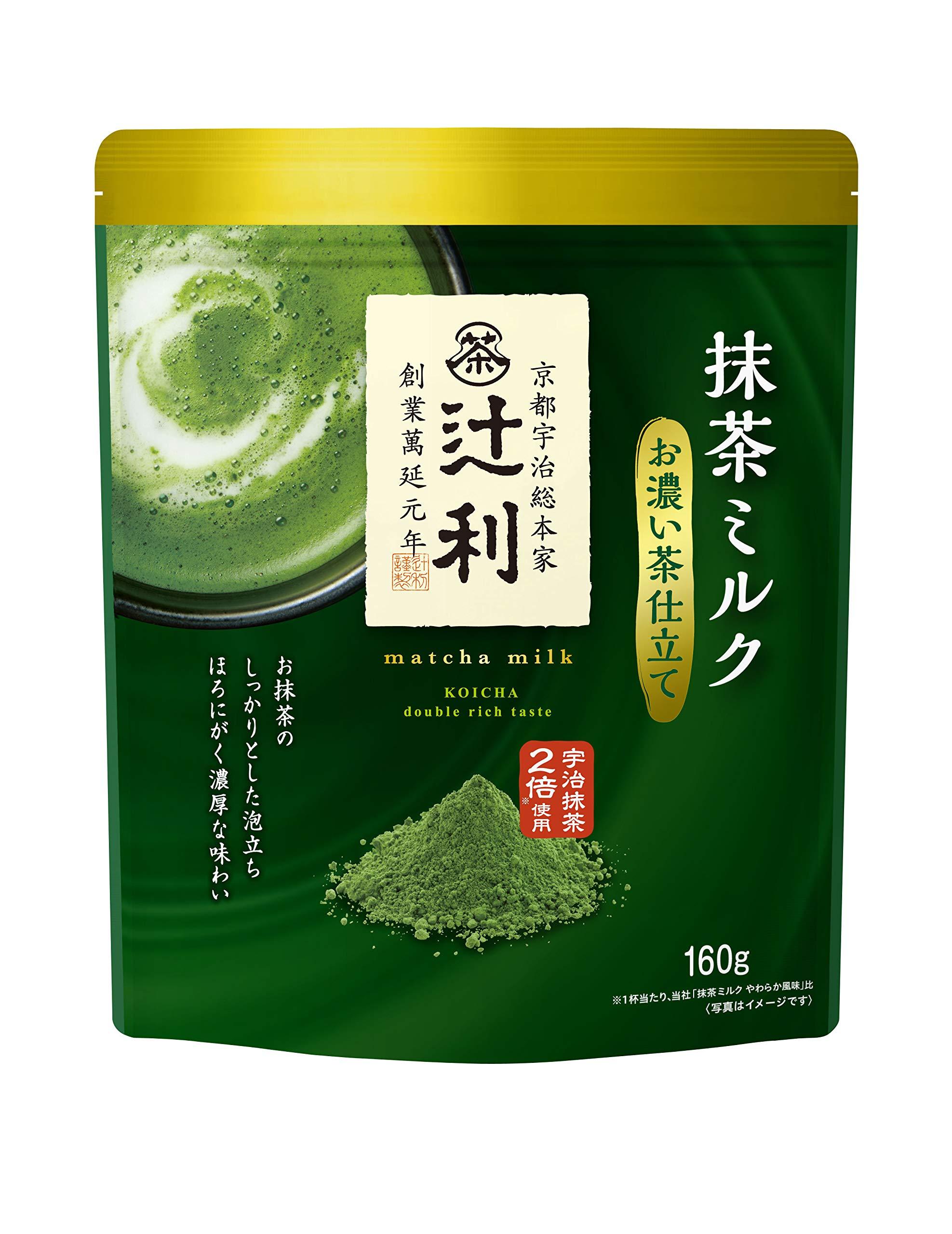 Tsujiri Green tea milk dark tea tailored 160g × 3 bags [Japan Import]