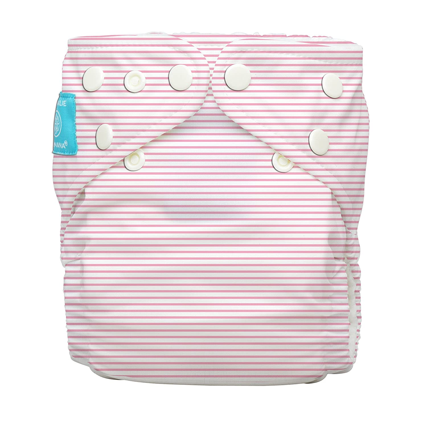 Charlie Banana Diaper 2 Inserts Pencil Stripes Pink One Size Hybrid AIO Winc Design Limited 888204