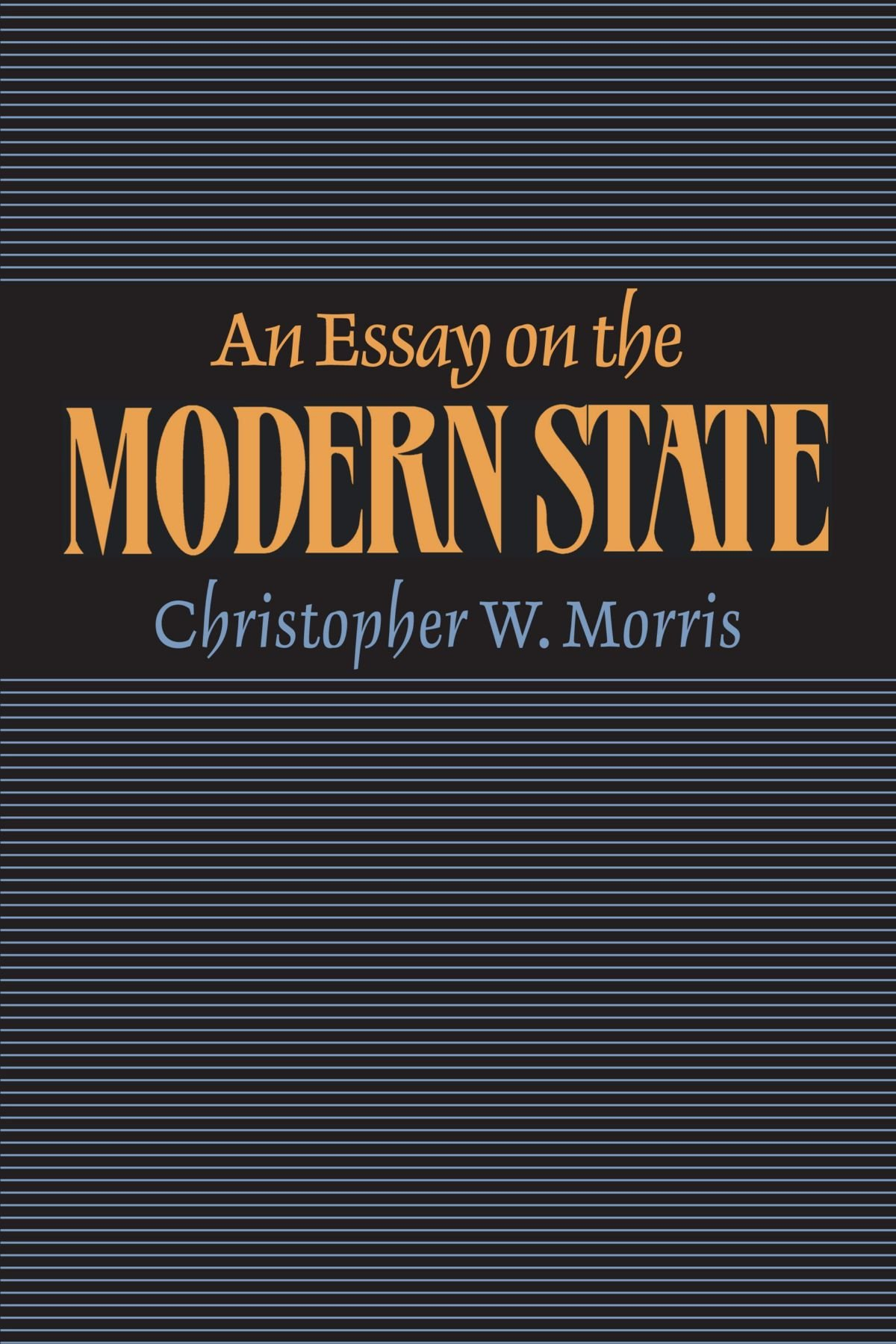 Download An Essay on the Modern State pdf