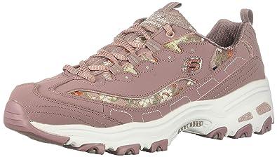 Venta caliente genuino Boutique en ligne disfruta del mejor precio Skechers Women's D'Lites Sneaker, Mauve, 6.5 M US: Amazon.co.uk ...