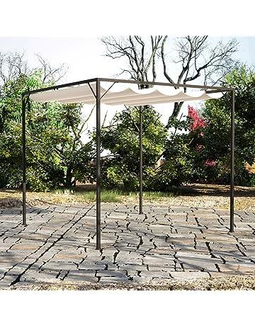 Amazon.es: Cenadores - Sombrillas, marquesinas y toldos: Jardín