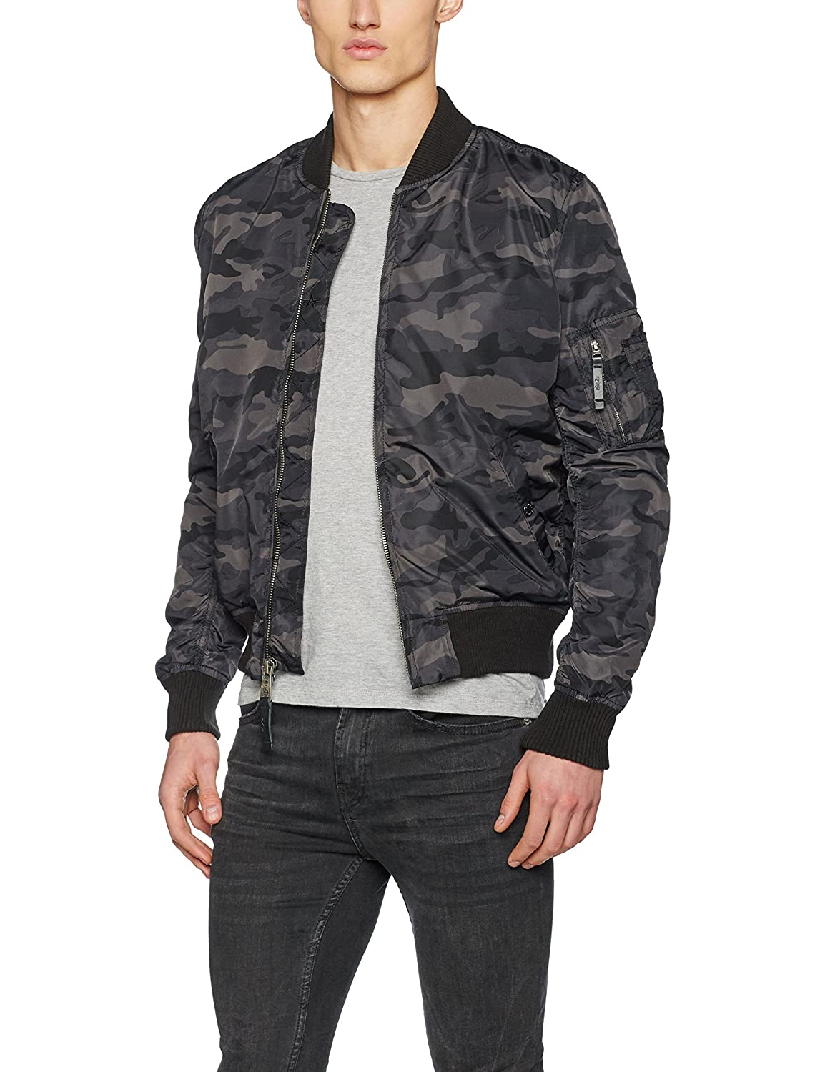 Alpha Industries Herren Jacke Ma-1 Tt