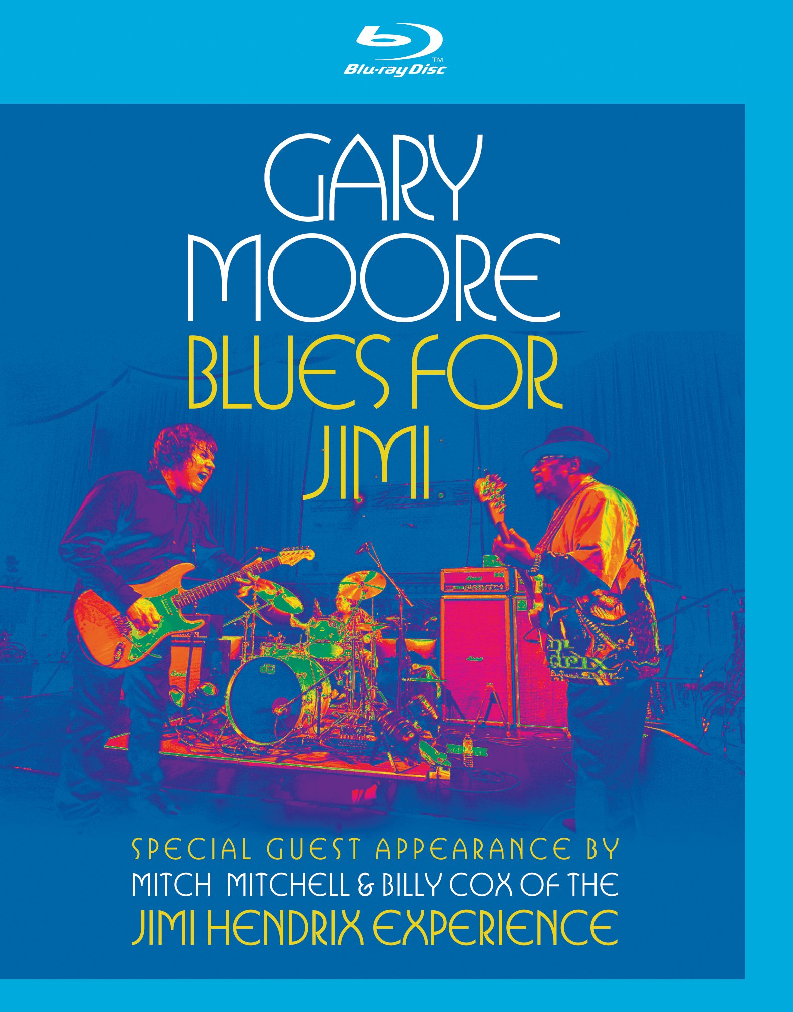 Blu-ray : Gary Moore - Blues for Jimi: Live in London (Blu-ray)