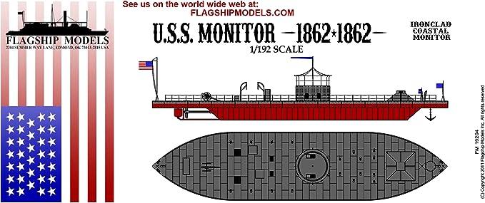 1:144 Mikro-Mir NEUHEIT ! Ätzteile Civil War Ironclad USS Monitor Plastik