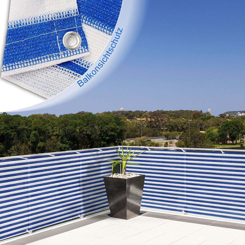 Balkon Sichtschutz UV Schutz 90x500cm