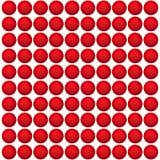 HeadShot Ammo 100 Rounds Nerf Rival Compatible Ammo - Bulk Red Foam Bullet Ball Replacement Refill Pack for Apollo, Zeus, Khaos, Atlas, Artemis & Nemesis Blasters (100 Rounds, Red)