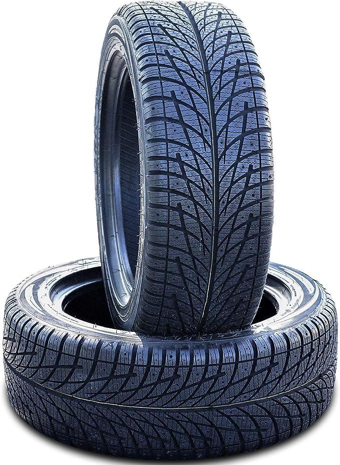 FOUR Set of 4 Accelera X Grip-N Winter Performance Radial Tires-235//50R18 101V