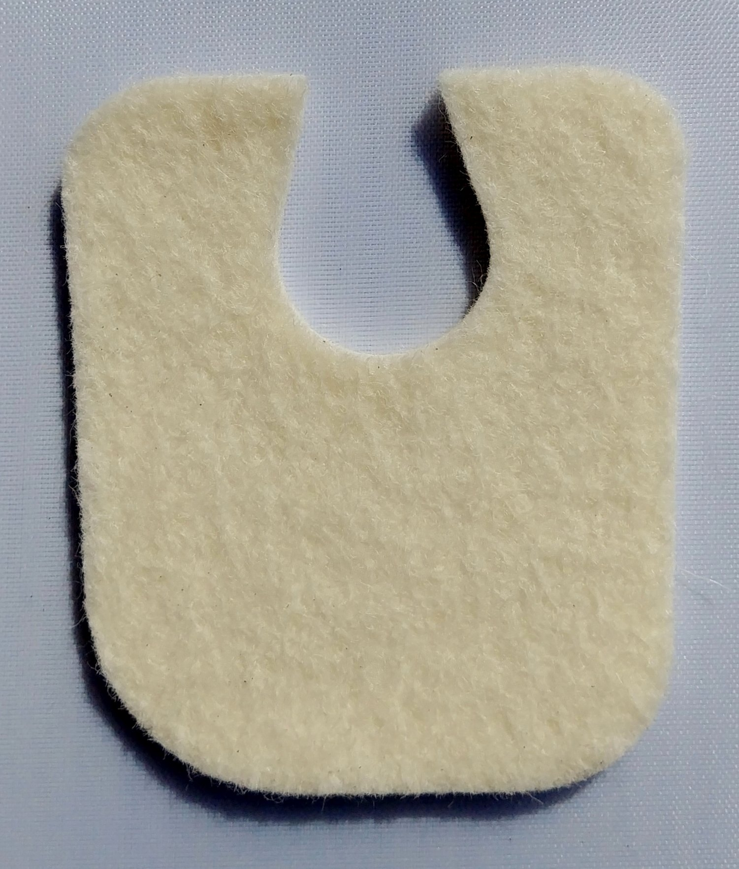 Extra Thick U Shaped Callus Cushion, 100 Felt Pads