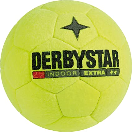 Derbystar Indoor Extra - Balón de fútbol Sala, Color Amarillo ...