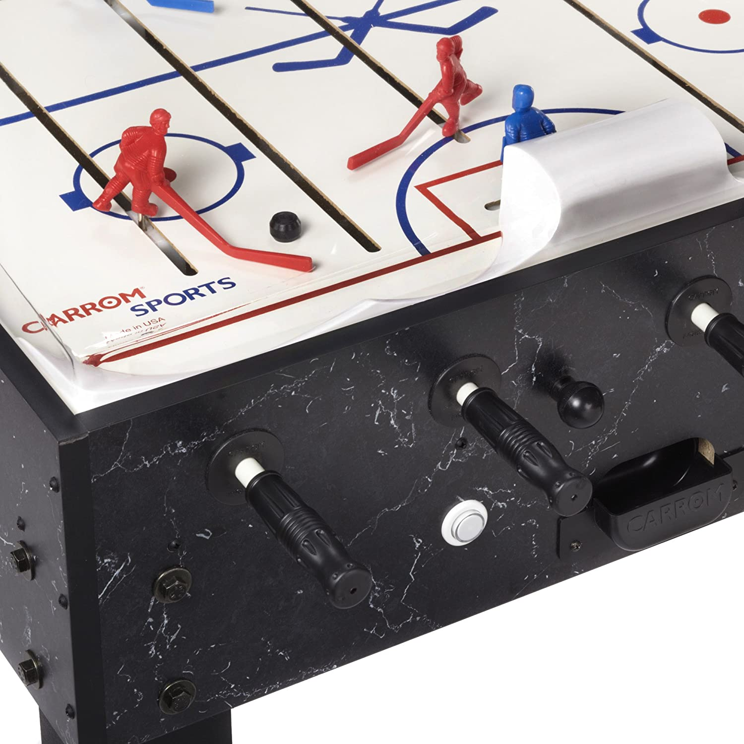 81NBvBm0aWL._SL1500_ amazon com carrom 415 super stick hockey table dome hockey carrom bubble hockey wiring diagram at bakdesigns.co