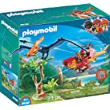 PLAYMOBIL® Adventure Copter with Pterodactyl...
