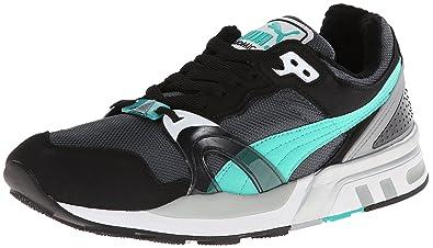 PUMA Men's Trinomic XT 2 Plus Classic Sneaker,Turbulence/Black/Pool Green,