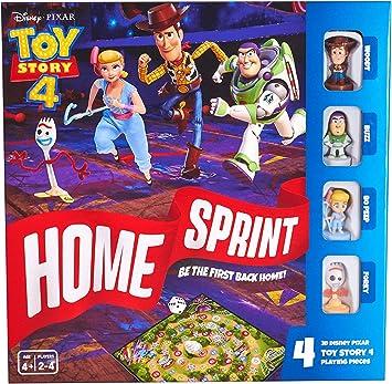 Disney Toy Story 4 Home Sprint Juego de Mesa para niños de 4 años + Multi: Amazon.es: Juguetes y juegos