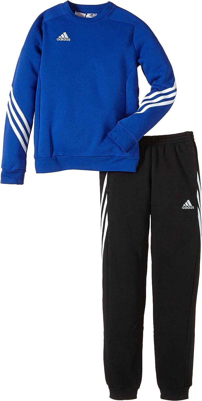 adidas Trainingsanzug Sereno 14 Sweat Suit Sudadera, Niños: Amazon ...