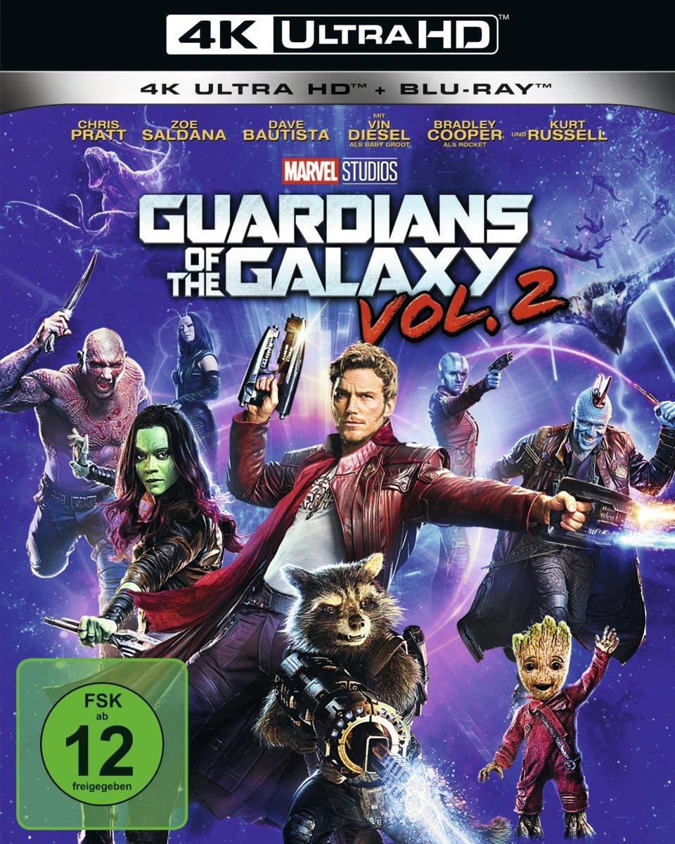 Guardians of the Galaxy 2 4K Ultra HD + Blu-ray 2D Blu-ray: Amazon.es: Bautista, Dave, Pratt, Chris, Saldana, Zoe, Rooker, Michael, Gillan, Karen, Gunn, Sean, Stallone, Sylvester, Close, Glenn, Flanagan, Tommy, Russel,
