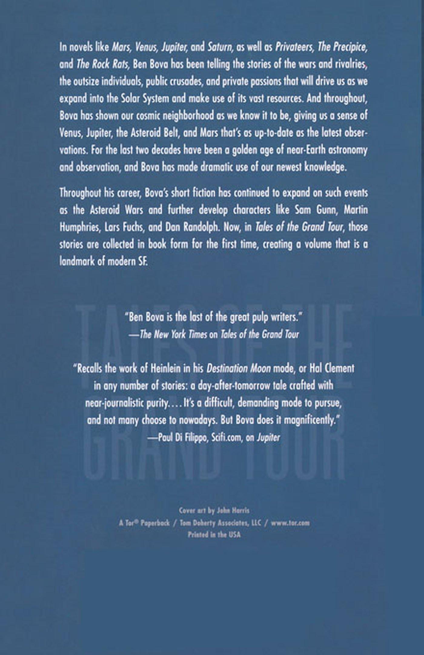 Tales Of The Grand Tour: Short Stories: Ben Bova: 9780765310446:  Amazon: Books