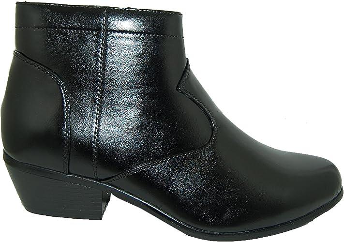 RETRO STYLE 2 Inch Cuban Heel Men Boots