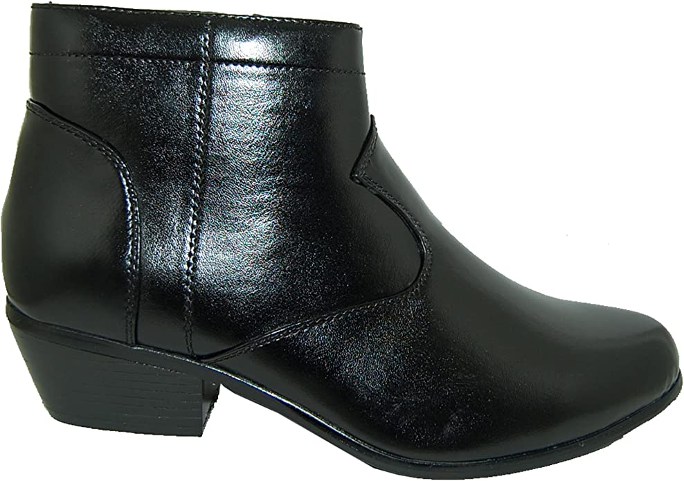 Mens Retro Shoes | Vintage Shoes & Boots RETRO STYLE 2 Inch Cuban Heel Men Boots $39.99 AT vintagedancer.com