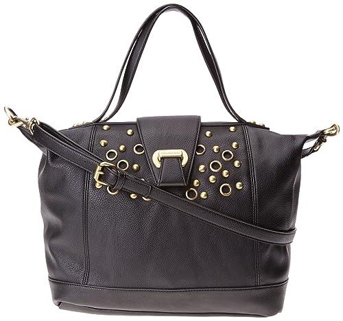 Calvin Klein Jeans Women s Small Satchel Serena Cross-Body Bag Black Noir  (999)  Amazon.co.uk  Shoes   Bags 4f825fe461600