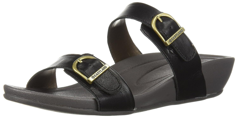 Eastland Women's Cape Ann Slide Sandal B076SDK8R6 9 B(M) US|Black