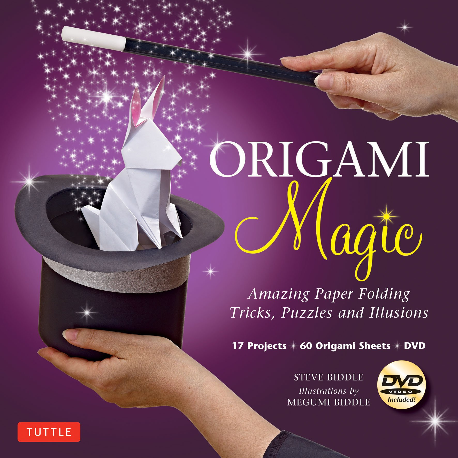 Origami Magic Kit: Amazing Paper Folding Tricks, Puzzles and Illusions: Kit with Origami Book, 17 Projects, 60 Origami Papers and DVD Text fb2 book
