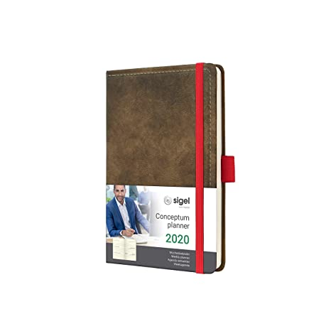 Amazon.com : SIGEL C2056 Weekly Diary 2020, Approx. A6 ...