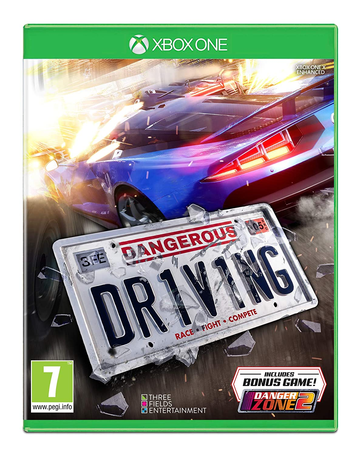 Amazon Com Dangerous Driving Xbox One Xbox One Video Games