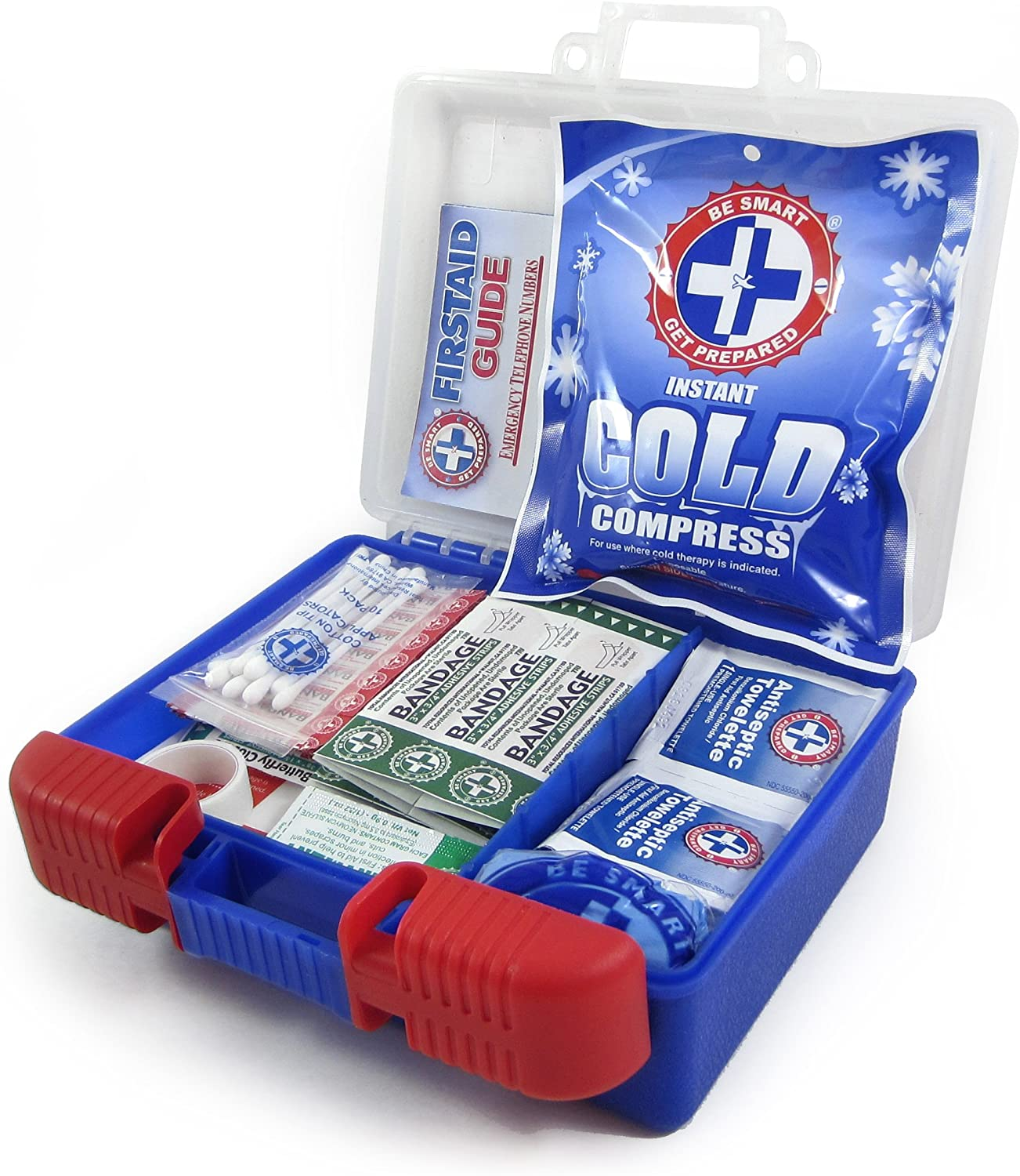 Be Smart Get Prepared 100Piece First Aid Kit