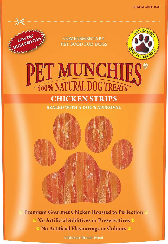 Pet Munchies - Tiritas Pollo, 0.1KG