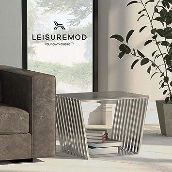 Amazon.com: leisuremod moderna (Tamaño pequeño, acero ...