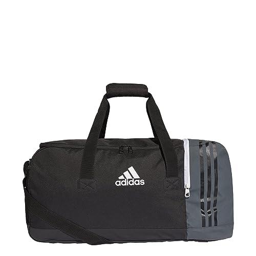 adidas S98392 Tiro Teambag M Borsone 27 cm x 60 cm x 29 cm Nero/Grigio scur...