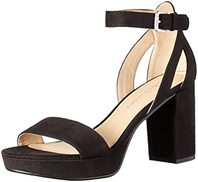 5140ccdd64 CL by Chinese Laundry Women's Go On Platform Dress Sandal, Black Super  Suede, 6