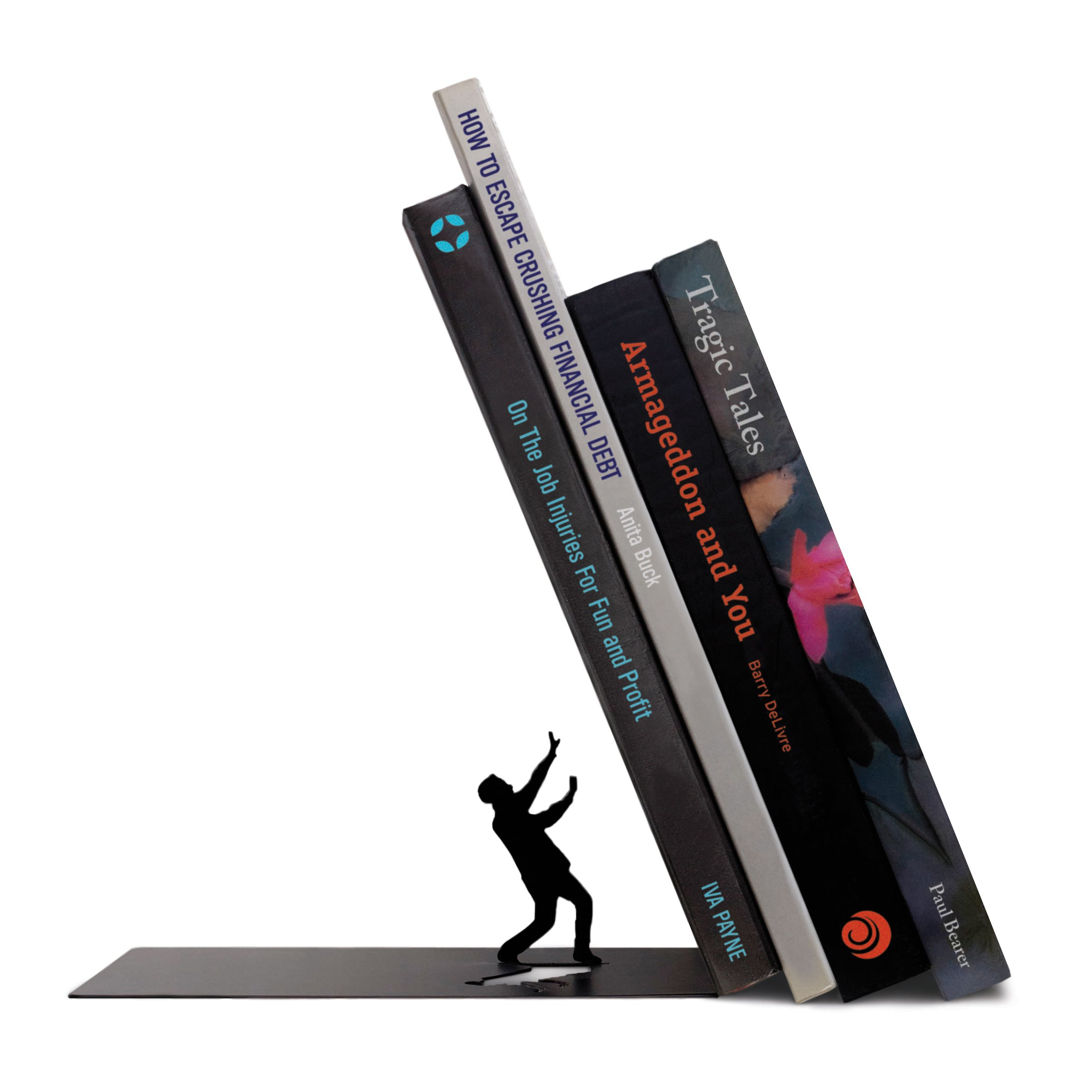 Fred THE END Dramatic Bookends by Fred & Friends