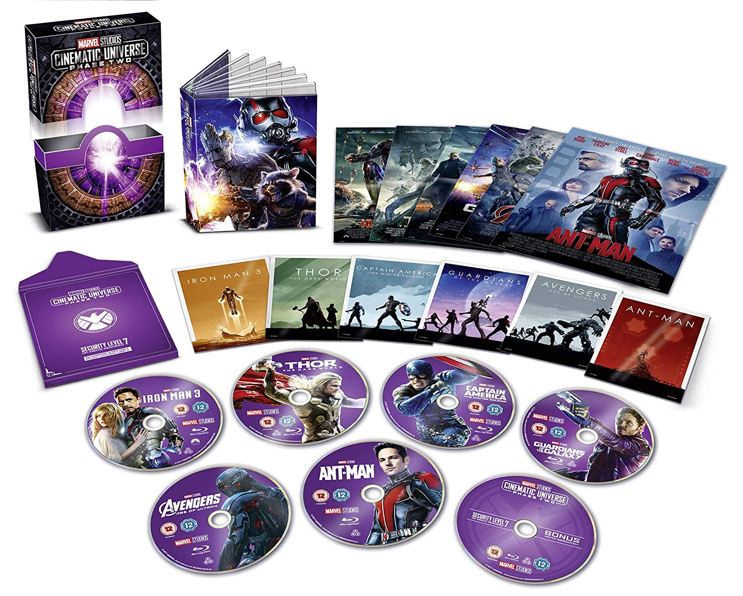 Marvel Cinematic Universe Phase 2 Collectors Edition Blu-ray ...