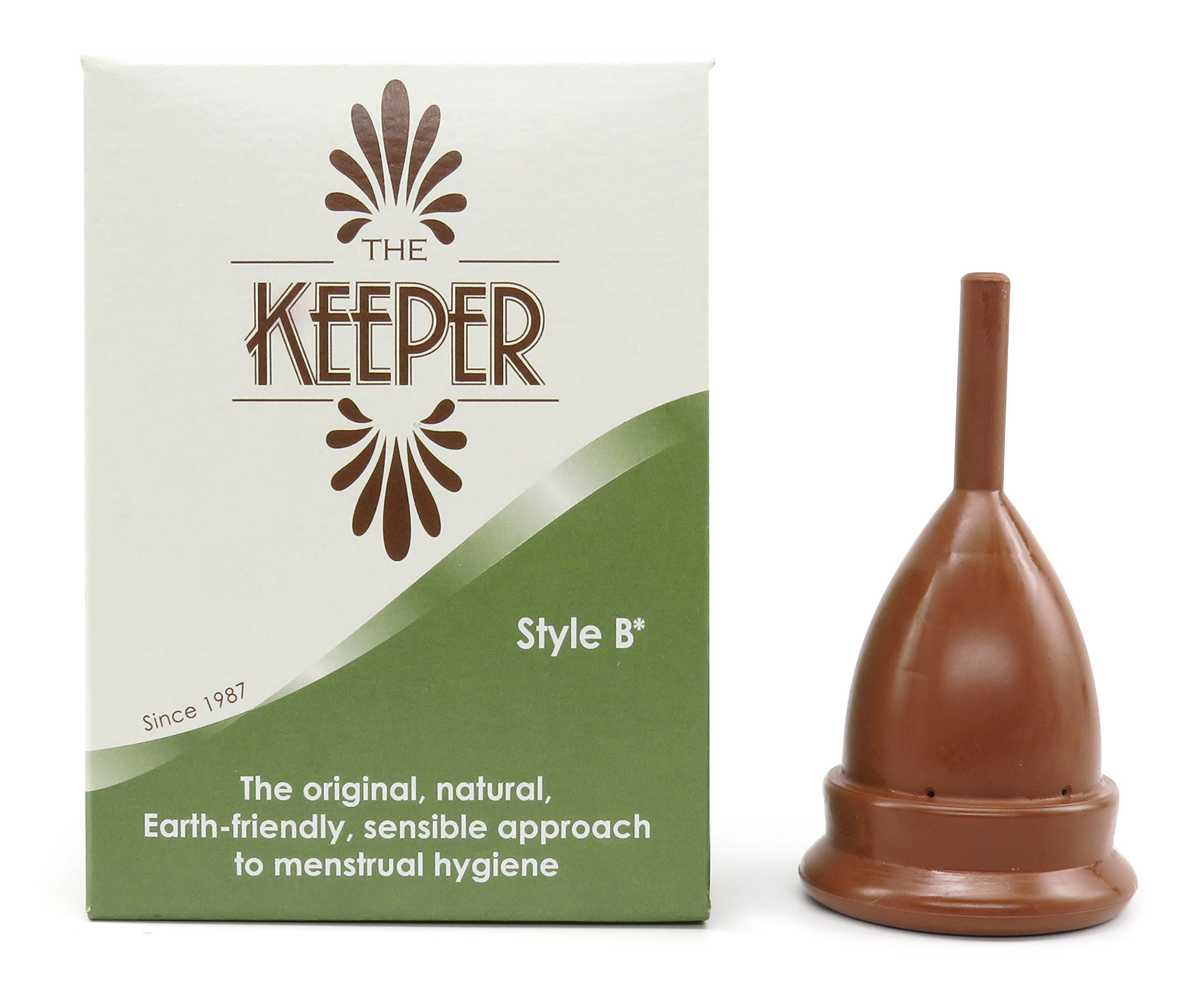 The Keeper Menstrual Cup, Size B Made in USA