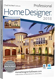 Incroyable Chief Architect Home Designer Pro 2018   DVD