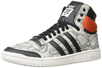 59a8c64f8933 adidas Top 10 Hi Snake Mens Basketball Shoes M25601 Grey 10.5 M US