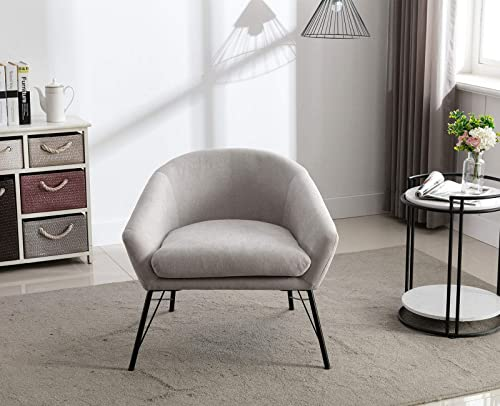 Shunzhi Modern Linen Single Sofa