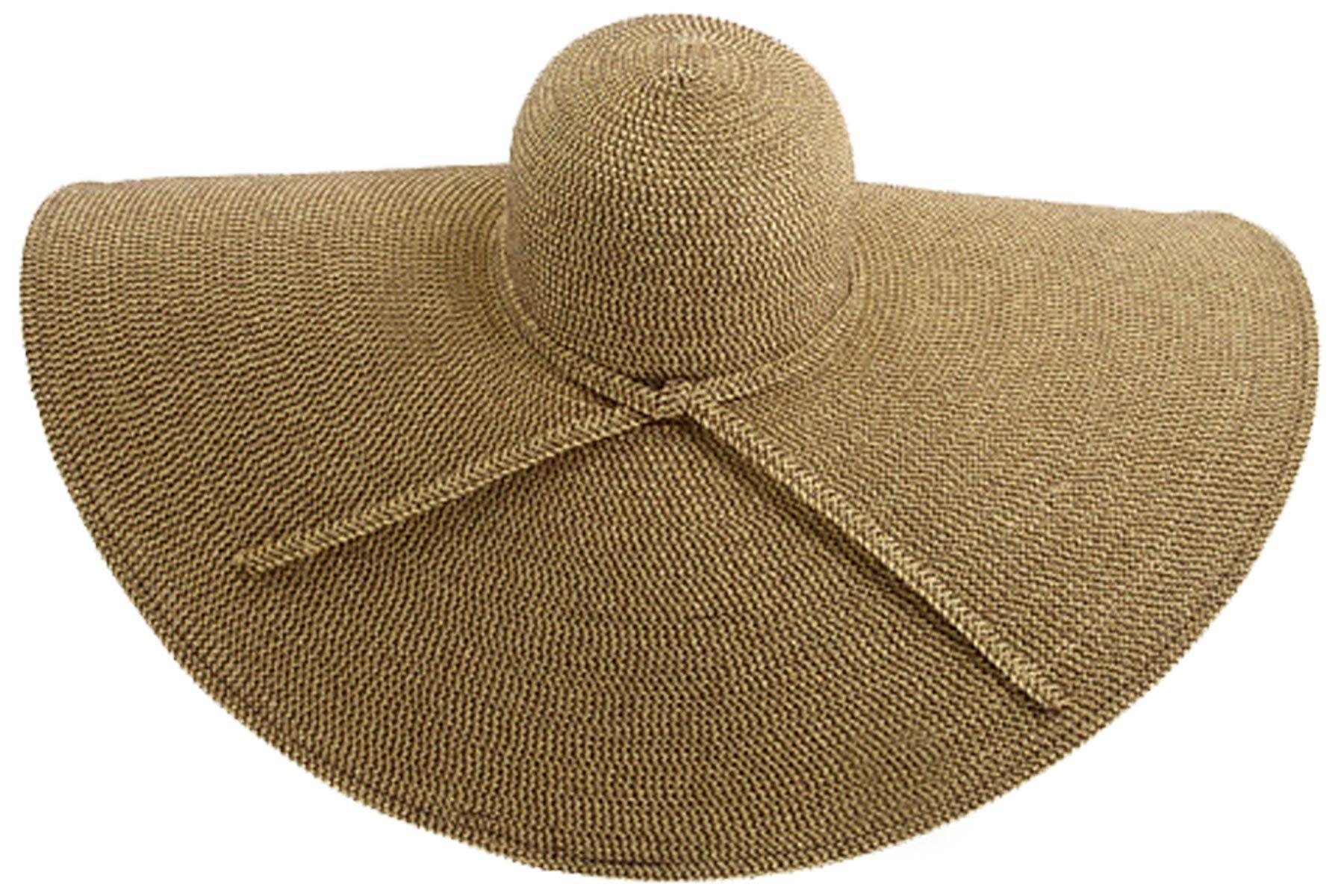 San Diego Hat Company Women's XL Brim Hat OS Brown