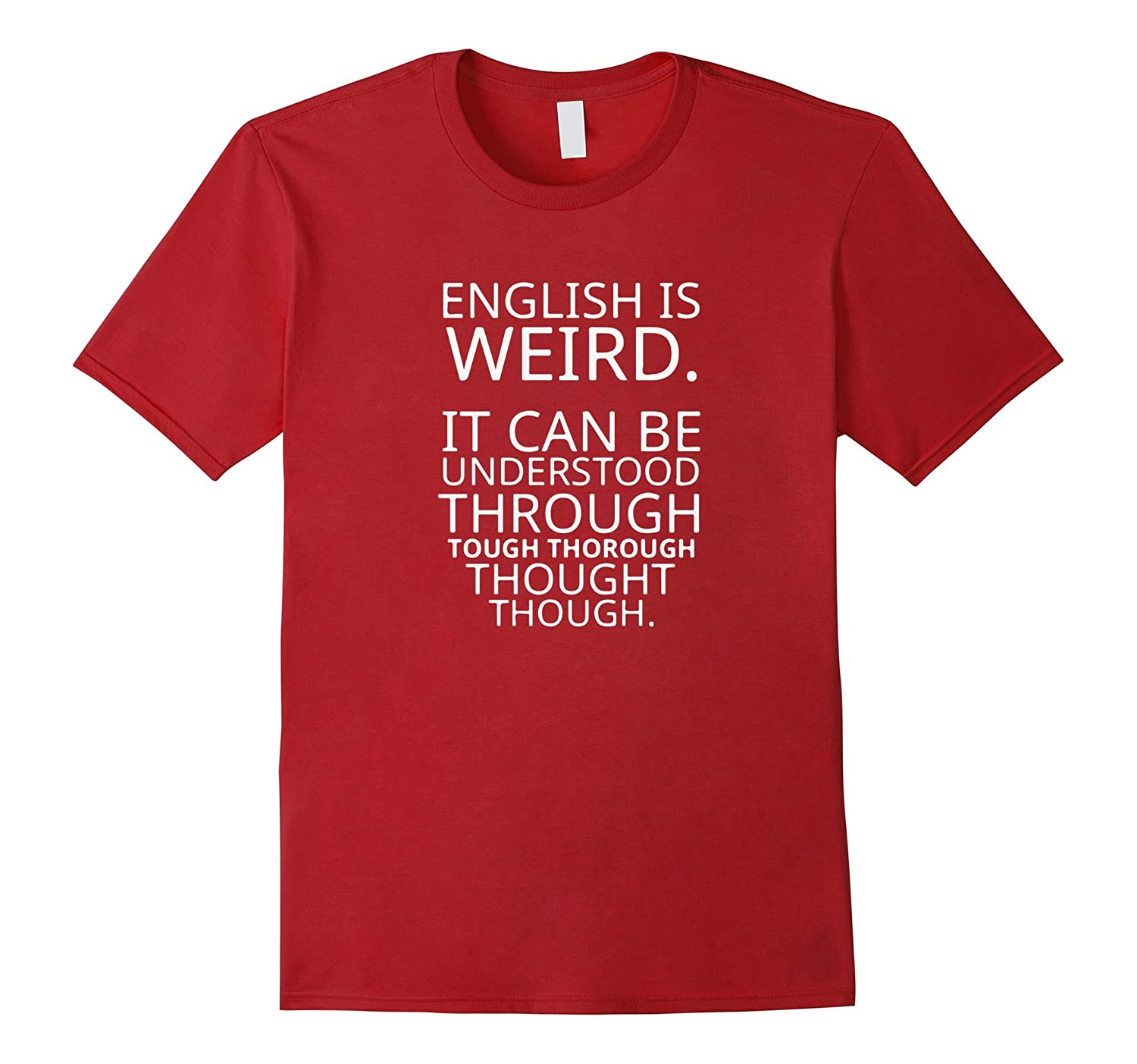 Funny Quote Saying Pun English T Shirt Design Graphic Tee Anz