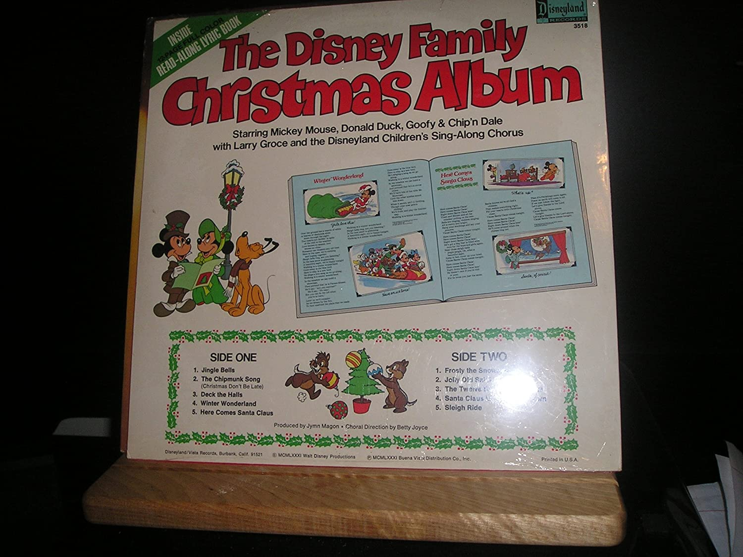 Various Artists, Mickey Mouse, Donald Duck, Goofy, Chip\'n Dale ...