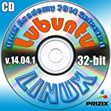Lubuntu 14.04.1 Linux CD 32-bit Full Installation Includes Complimentary UNIX Academy Evaluation Exam