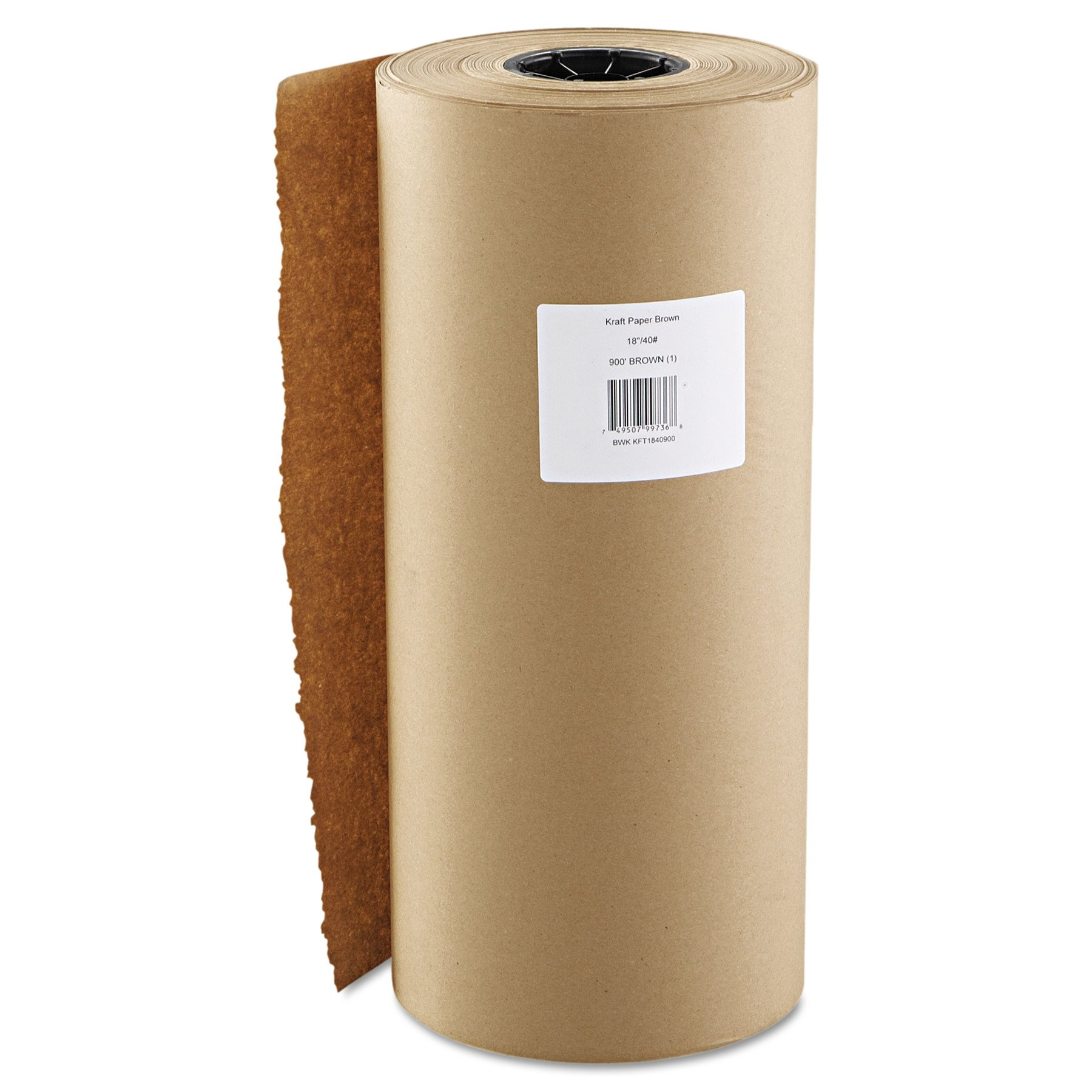 Boardwalk K1840900 Kraft Paper, 18'' x 900ft, Brown