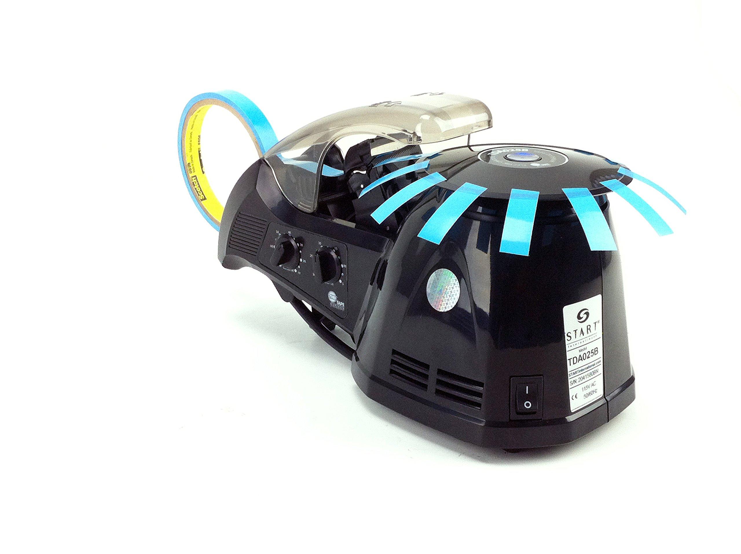 START International TDA025B Electric Carousel Tape Dispenser, 11.8'' Length x 6.3'' Width x 6.3'' Height