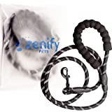 Zenify Pets Dog Lead - Durable Strong Chew Resistant Slip Lead Nylon Rope Padded Handle Mountain Climbing Harness Pet…
