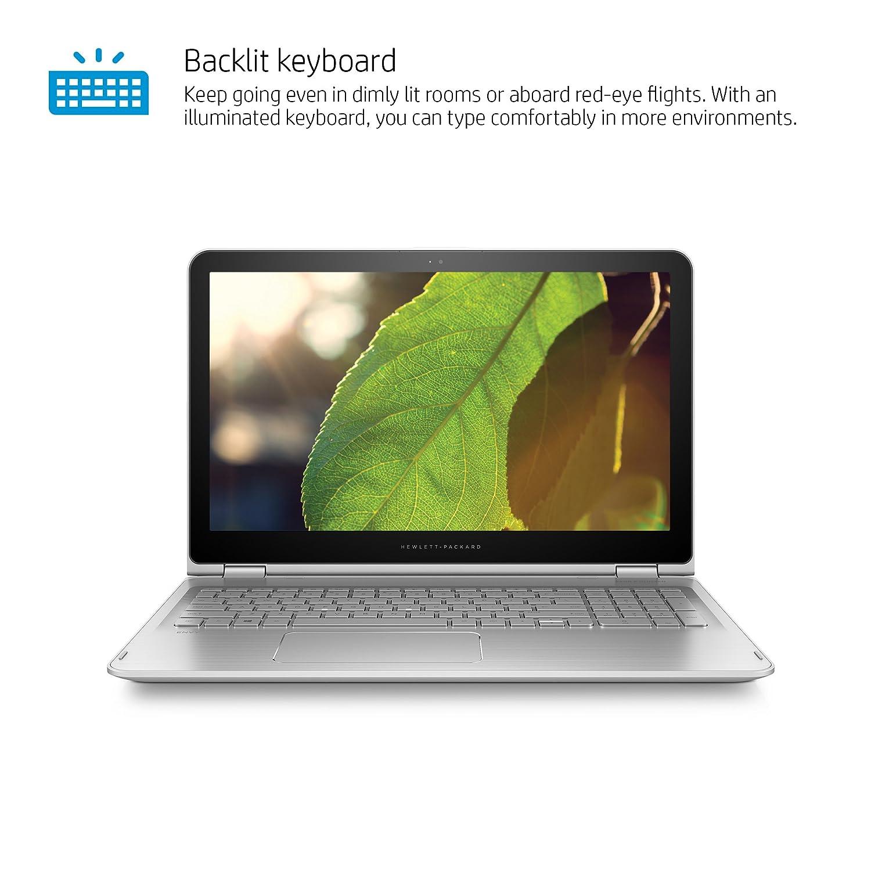 Amazon.com: HP Envy x360 15-inch Convertible Laptop, Intel Core i7-6500U, 8GB RAM, 256GB SSD, Windows 10 (15-w110nr, Silver): Computers & Accessories