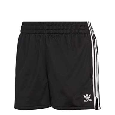 first rate 03dbd a044f adidas Originals Women s 3 Stripes Short, Black, ...