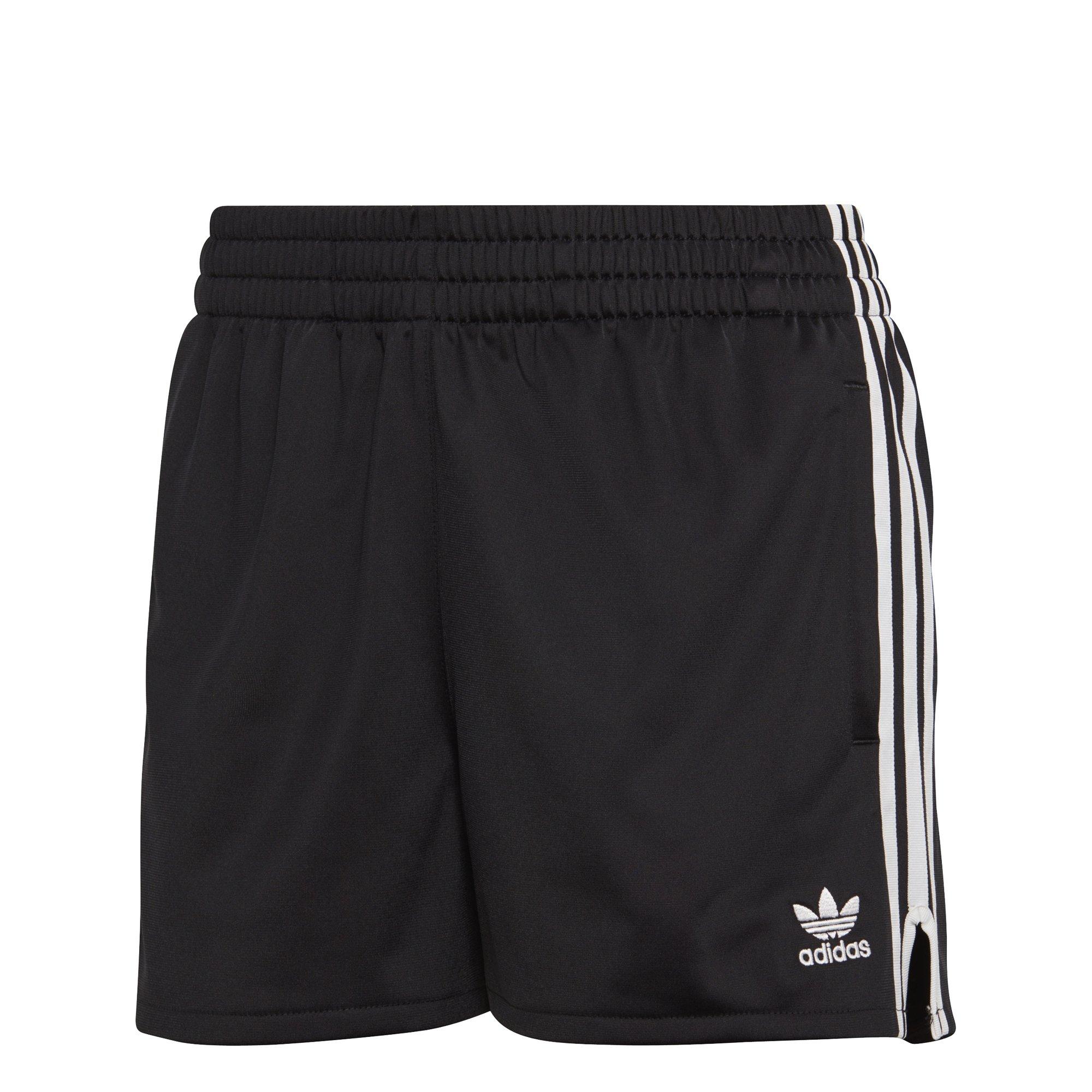 adidas Originals Women's 3 Stripes Short, Black, L