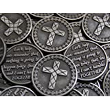 Set of 10 Lord Help Me Remember Pocket Token Coins